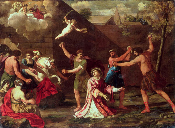 Let's never forget where we came from. St. Stephen, the First Martyr by Dom Prosper Gueranger, 1870