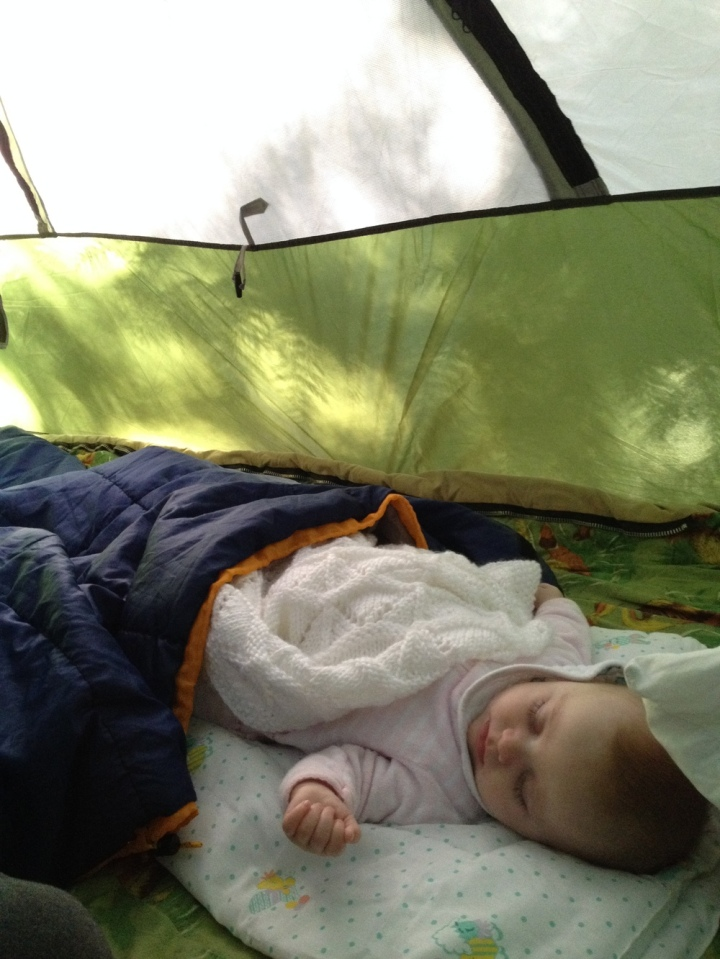 Camping is hard work!