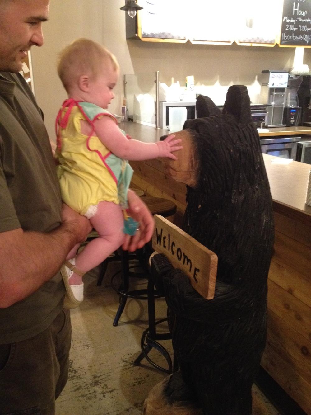 Hello small black ursine friend!