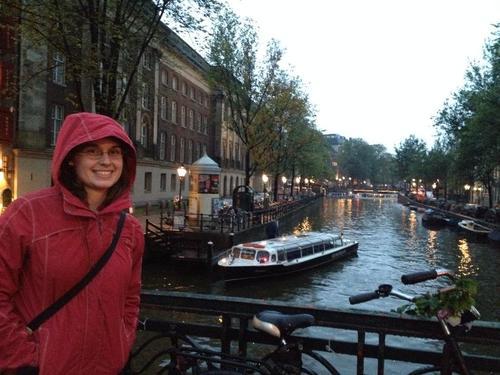 Kathleen touring in Amsterdam, 2013.