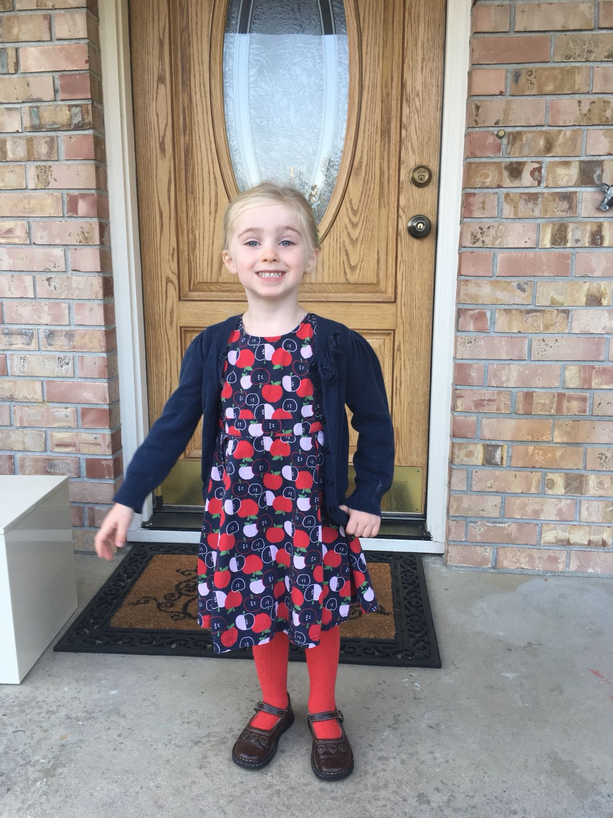 Evie First Day of School (1)