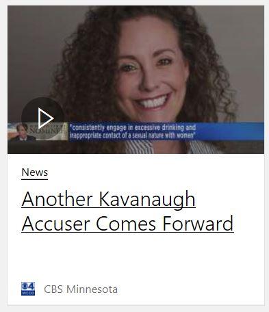 New accuser