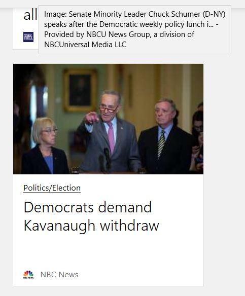 Senate Demands